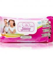 Janey влажные салфетки 72 шт. premium